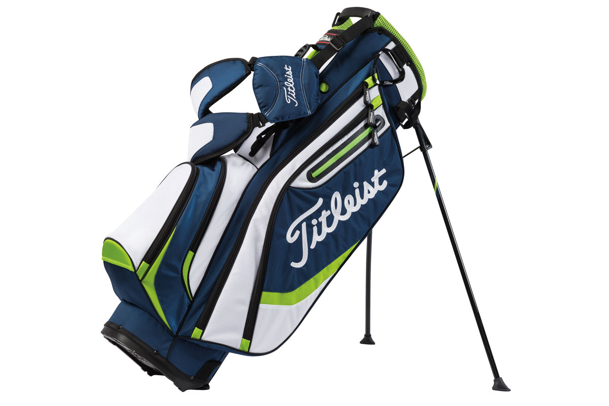 Titleist 2016 Lightweight Stand Bag Navy Hvid Lime