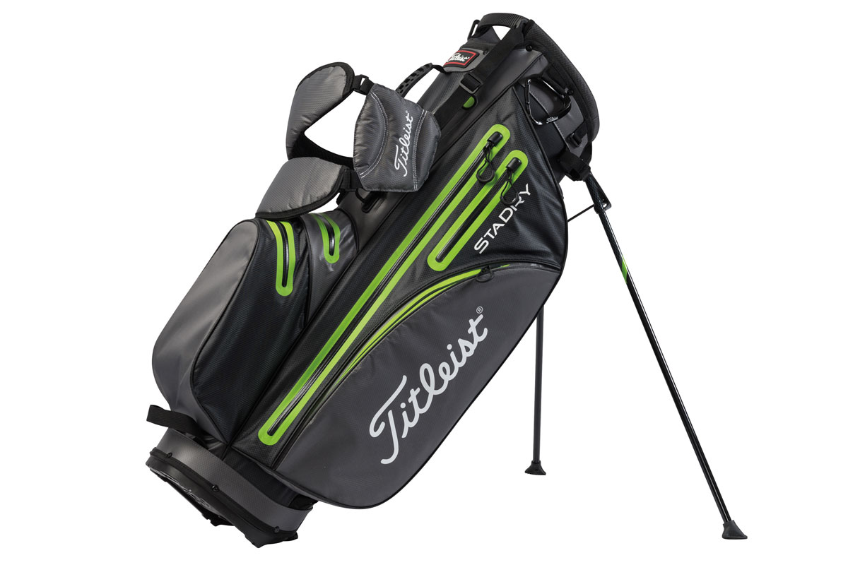 Titleist 2016 StaDry Stand Bag Grå Lime