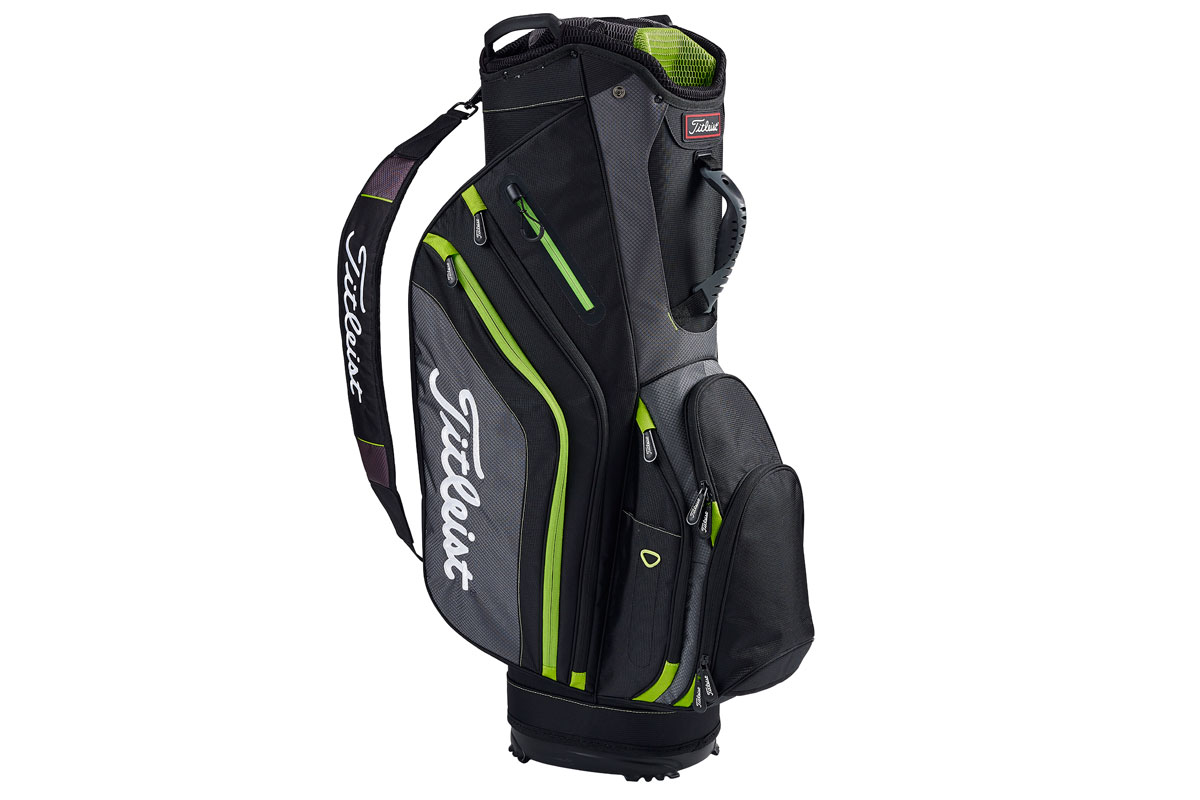 Titleist 2016 Lightweight Vognbag Sort Grå Lime