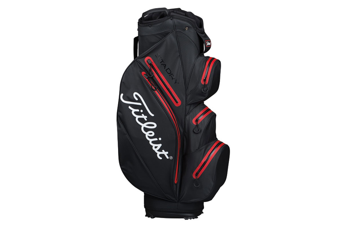 Titleist 2016 StaDry Vognbag Sort Rød