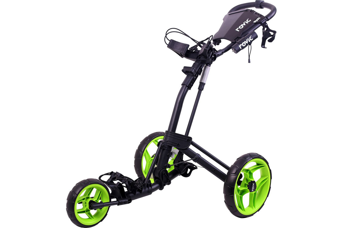 Clicgear RV2L Trolley Anthrazit Lime