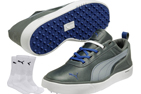Puma 2014 Monolite SL Chaussures Golf Gris EUR 43 with FREE Chaussettes