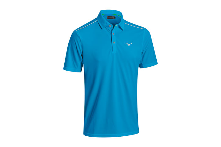 Mizuno 2016 Plain Polo Bleu (L) - SALE