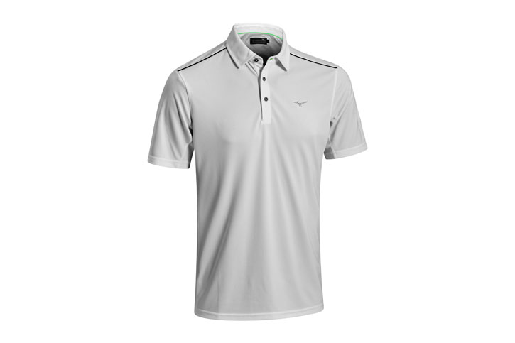 Mizuno 2016 Plain Polo Gris (M) - SALE