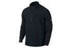 Nike 2014 Dri-Fit Wool Tech Protect Cover-Up Pull Noir X-Large (XL)