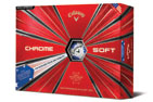 Callaway Chrome Soft Truvis Balles de Golf Stars and Stripes (12 Balles de Golf)