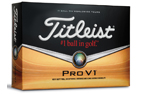 Titleist Pro V1 Balles de Golf Merry Christmas