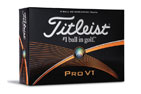 Titleist Limited Edition Pro V1 Balles de Golf #00 3PK