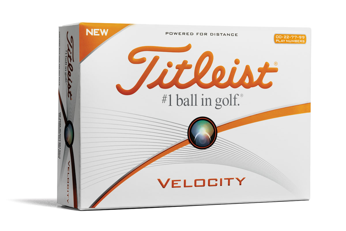 Titleist 2016 Velocity Double Digit Balles de Golf