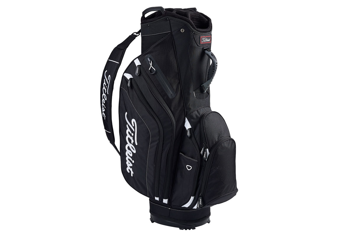 Titleist 2017 Lightweight Sac Charriot Noir Blanc