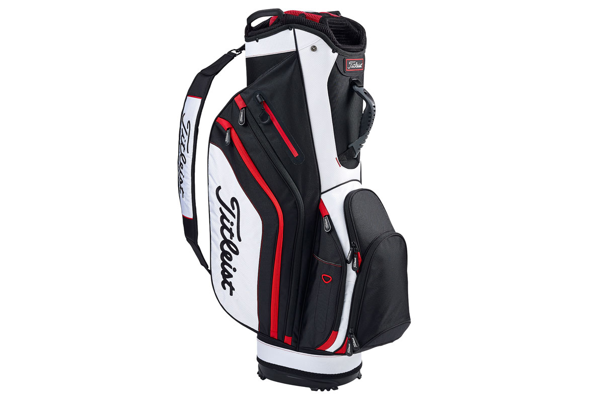 Titleist 2017 Lightweight Sac Charriot Noir Blanc Rouge