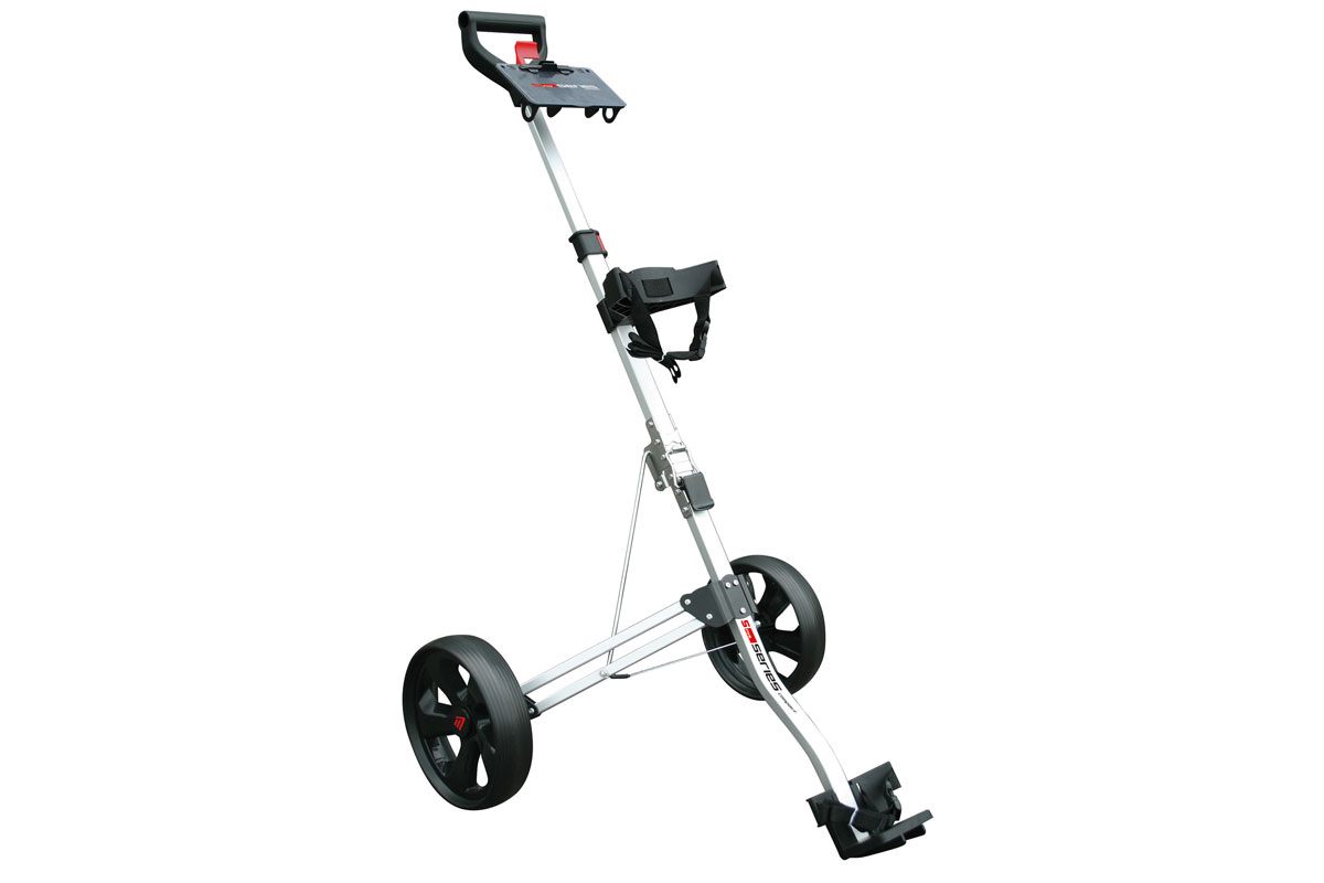Masters 5 Series Compact 2 Wheel Push Chariot Argenté