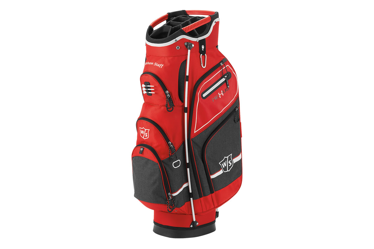 Wilson Staff 2017 Nexus 3 Sac Charriot Rouge Noir