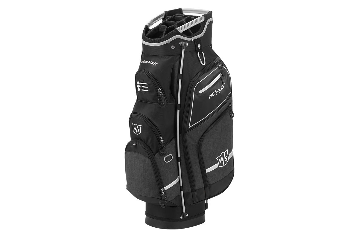 Wilson Staff 2017 Nexus 3 Sac Charriot Noir Argenté