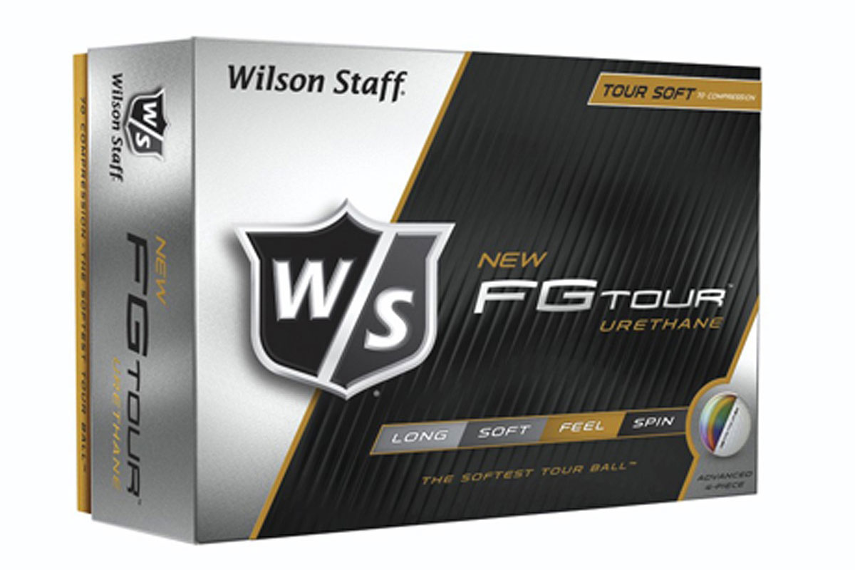 Wilson Staff 2016 FG Tour Balles de Golf 3PK