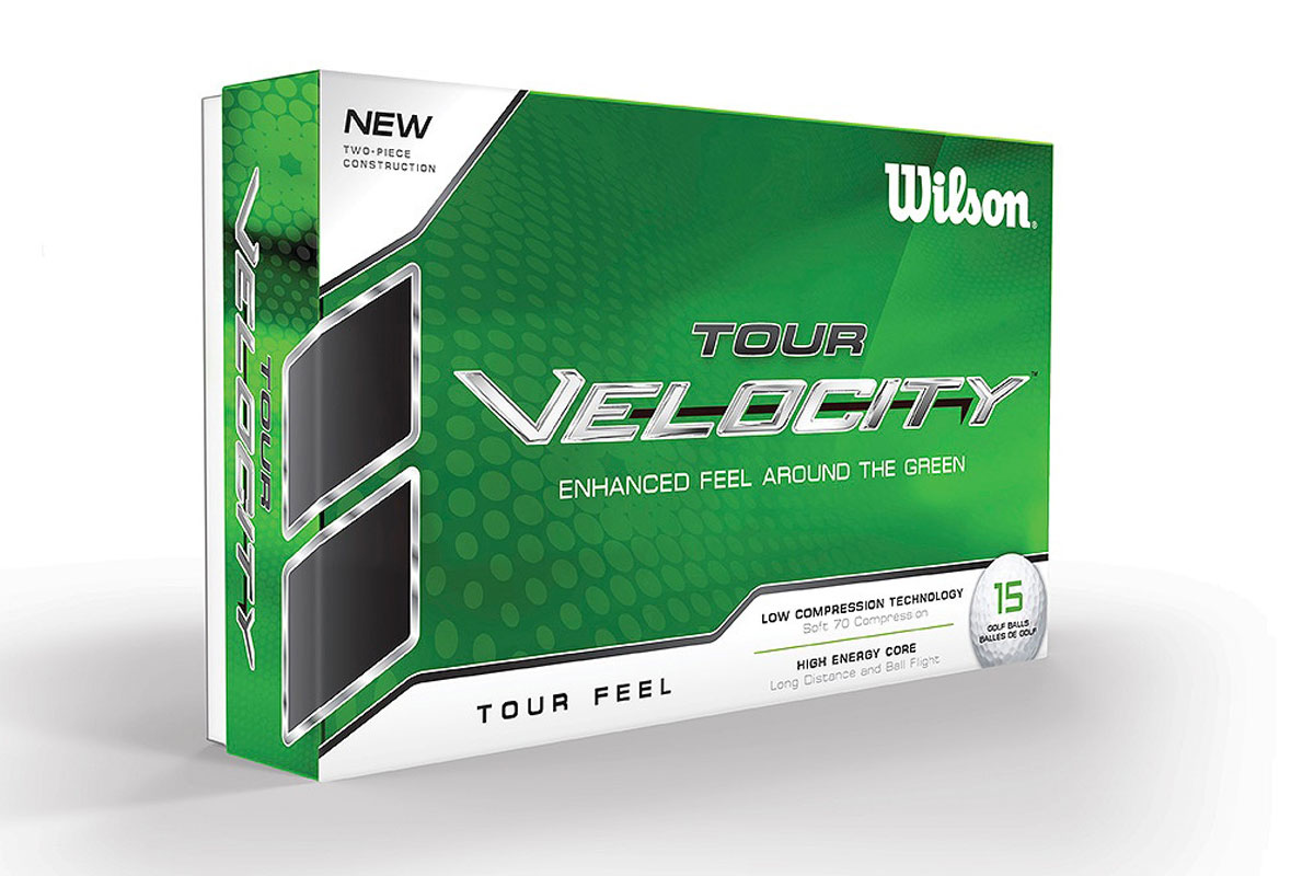 Wilson 2016 Tour Velocity Feel Balles de Golf