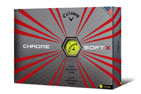 Callaway 2017 Chrome Soft X Balles de Golf Jaune 3PK (36 Balles de Golf)