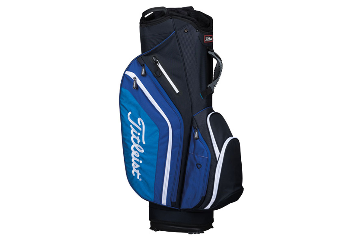 Titleist 2017 Lightweight Sac Charriot Noir Bleu Blanc
