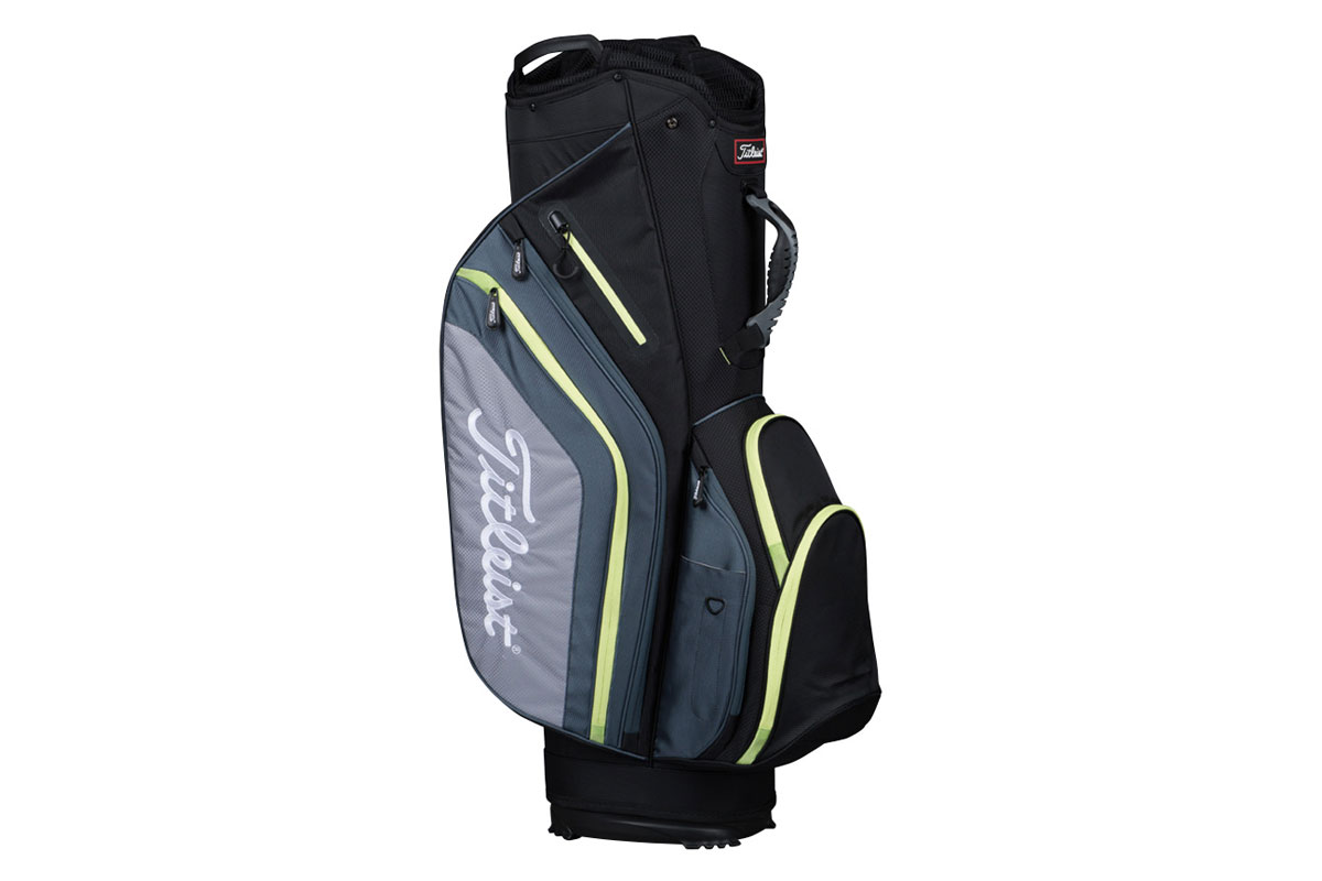 Titleist 2017 Lightweight Sac Charriot Noir Gris Lime