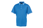 FootJoy 2014 Lisle Stretch Pique Double Stripe Poloshirt Marine L - SALE