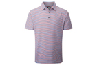 FootJoy 2015 Stretch Lisle Multi-Stripe Poloshirt Wit Rood (M) - SALE