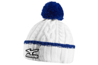 Mizuno 2015/16 Cable Knit Bobble Hat Wit