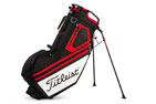 Titleist 2017 Players 14 Standbag Zwart Wit Rood