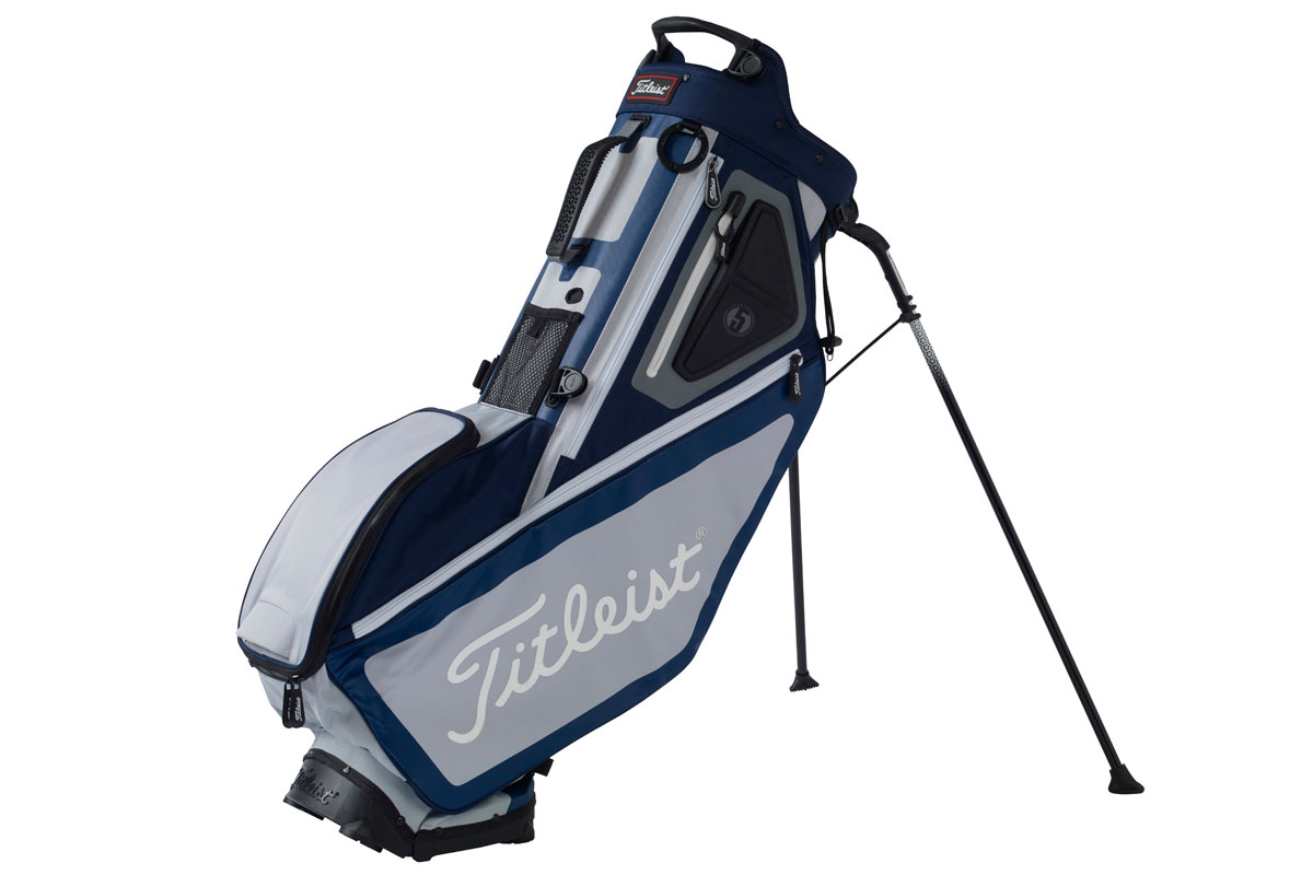 Titleist 2017 Players 5 Standbag Donkerblauw Grijs