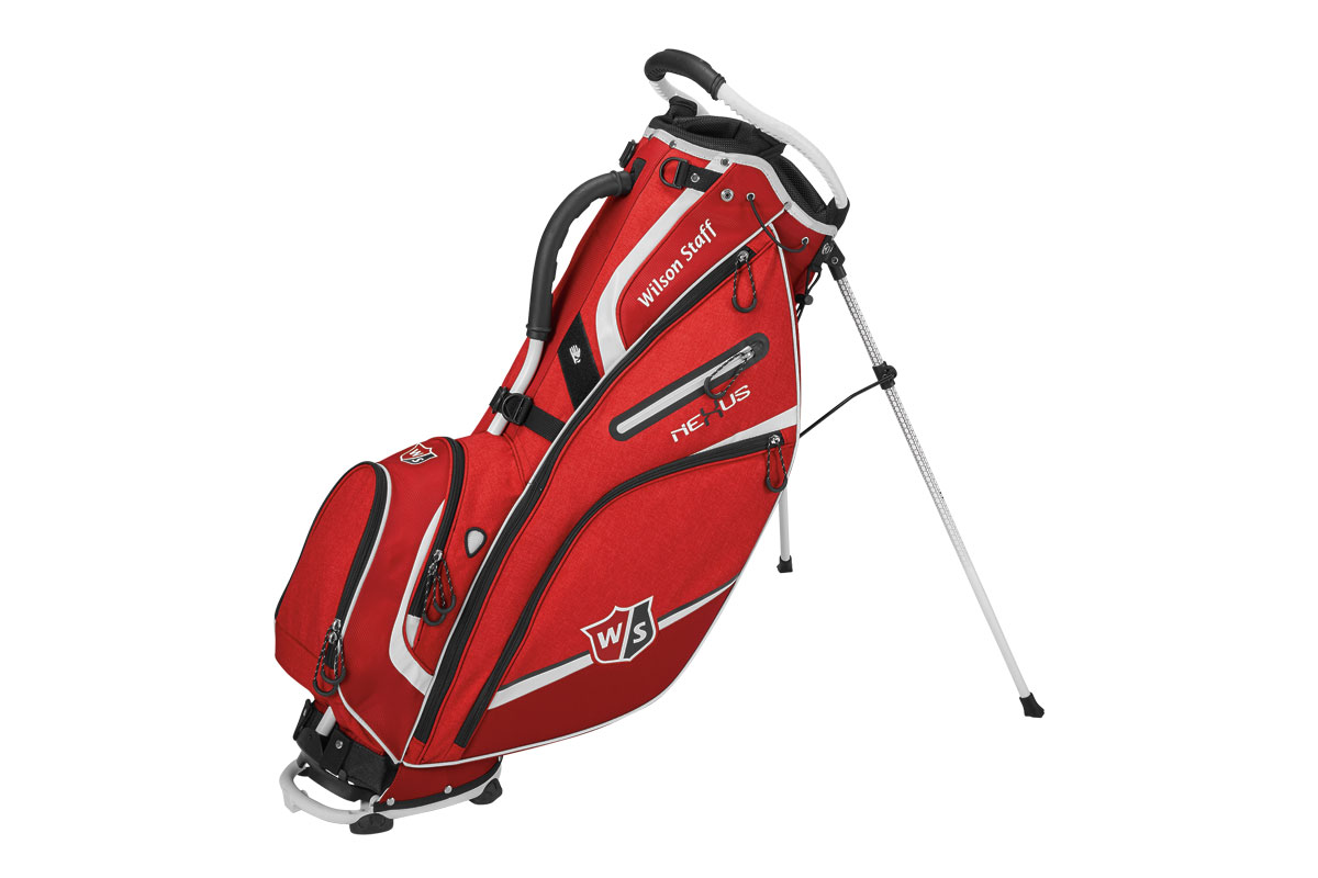 Wilson Staff 2017 Nexus 3 Standbag Rood Wit