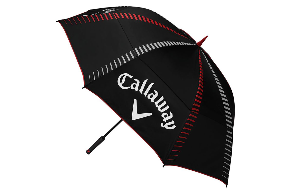 Callaway 2017 Tour Authentic Paraplu Zwart Rood