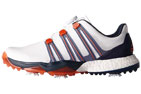 adidas (EUR 42.6 WIDE) Powerband BOA Boost Golfskor Vit - SALE