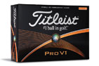 Titleist Pro V1 High Number Golfbollar 3PK (36 Balls)